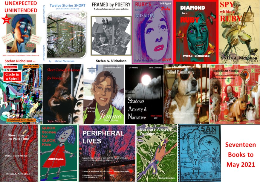 ALL My Books to 5-3-2021